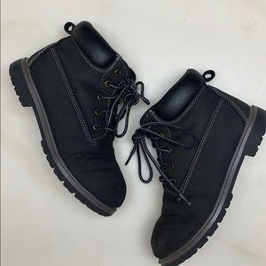 Wonder Nation | Grey/Black Hiking Boots